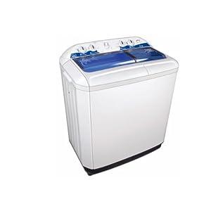 Godrej GWS7201PPL Semi-Automatic Top-loading Washing Machine (7.2 Kg, White and Blue)