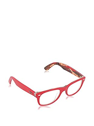 Ray-Ban Montura NEW WAYFARER (50 mm) Rojo 50-18-145