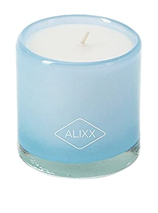 Alixx Candles Hand-Blown Glass Candle, Sea Breeze