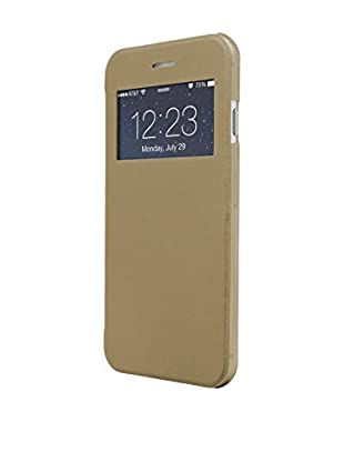 UNOTEC Funda Flip-S iPhone 7 Dorado