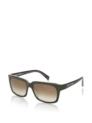 Jil Sander Women's Oversized Square Sunglasses, Green Tweed