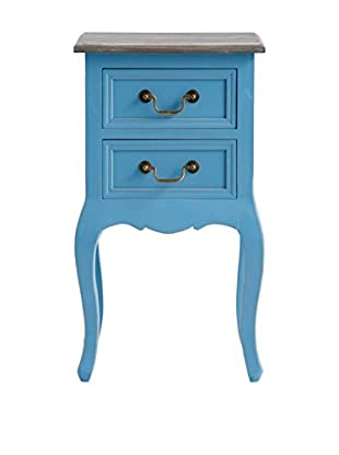 Kommode blau 38 x 30 x 67H cm