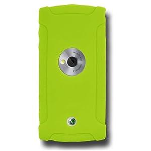Amzer AMZ89428 Silicone Skin Jelly Case-Green