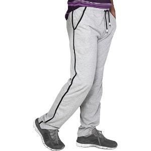Clifton Men's Grey Melange Track Pants