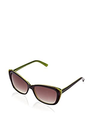 Alexander McQueen Gafas de Sol AMQ4178/S (59 mm) Morado / Pistacho