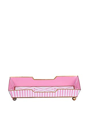 Jayes Flora Guest Towel Tray, Pink