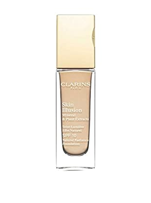 Clarins Fondotinta Liquido Skin Illusion N°110 Honey 10 SPF 30.0 ml