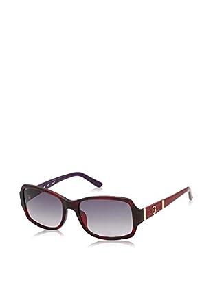 Tous Sonnenbrille 734-540761 (54 mm) schwarz/granatrot