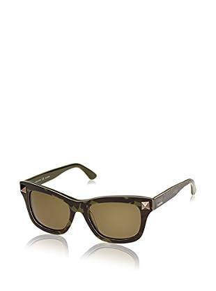 Valentino Gafas de Sol 656SC_316 (53 mm) Verde Camuflaje