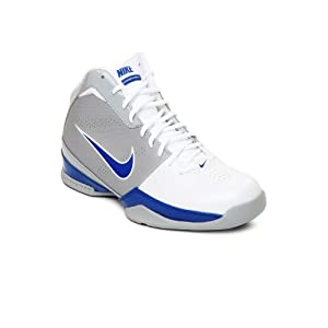 Nike Men White & Grey Air Quick Handle Sports Shoes