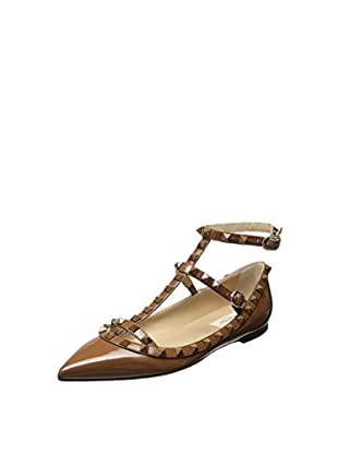 Valentino Women's Rockstud Pointed Toe Flat