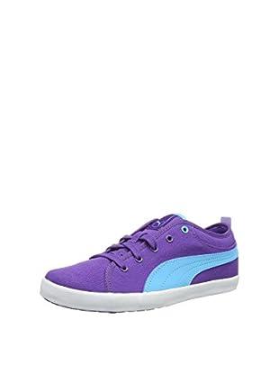 Puma Sneaker Elsu Bluchertoe Canvas Jr