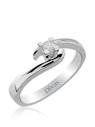 Divas Diamond Anillo Diamond Solitaire