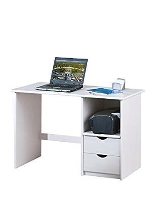 Office Ideas Schreibtisch Work 2  weiß