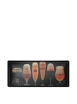Lo+Demoda Wandbild Vintage Beers