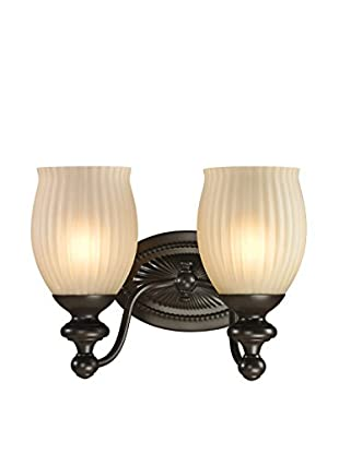 Artistic Lighting Park Ridge 2-Light LED Sconce, Oil Rubbed Bronze