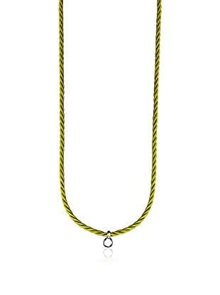 Esprit cordoncino Charms Necklace Green argento 925