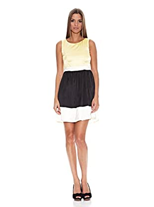 Tantra Vestido Satin (Amarillo)