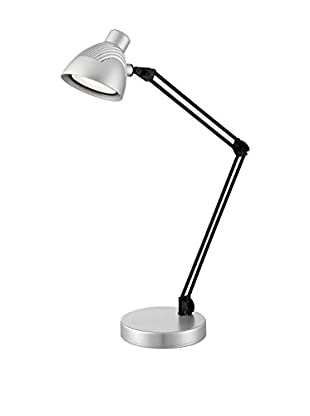 Lite Source Dantel LED Desk Lamp, Silver