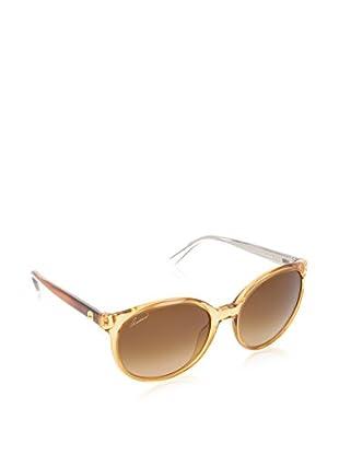 Gucci Sonnenbrille 3697/S UPJ1B56 karamell
