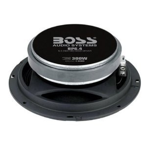BOSS Audio BP6.4 Pro 300-watt Mid-Bass Driver auto 6.5 Component Speaker
