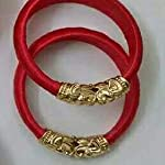 Red Fashion Bangle Set of 2 2:2 Size Available