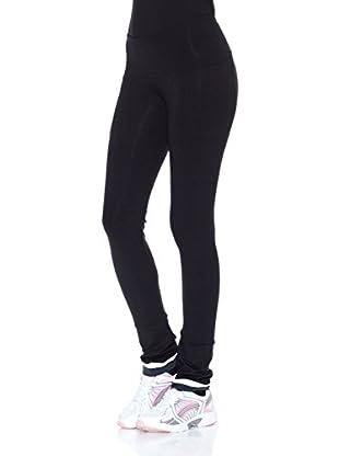 Naffta Pantalón Ajustado Active / Gym (Negro / Gris)