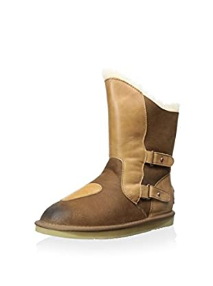 Australia Luxe Collective Women's Niobe Short Shearling Boot with Buckles