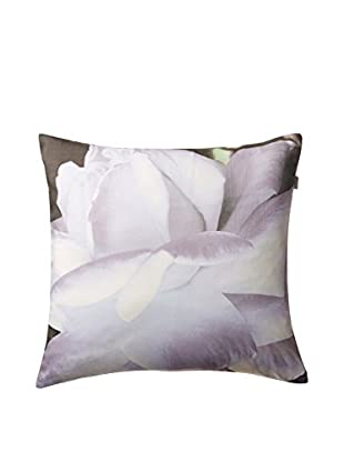 Belle Époque Home Concept Collection Pin Point White Flower Decorative Pillow