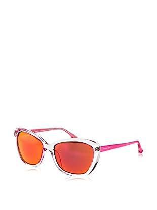 Michael Kors Sonnenbrille Mk-M2903S-628-Sabrin transparent/rosa