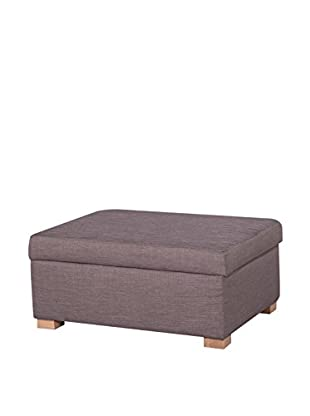 Best Seller Living Hocker mit Stauraum A-Maze dunkelgrau
