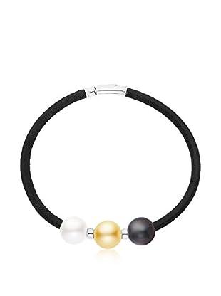 Manufacture Royale des Perles du Pacifique Pulsera 14 cm plata de ley 925 milésimas rodiada