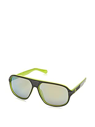 Guess Occhiali da sole GU 6836 (61 mm) Grigio/Lime