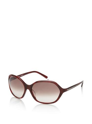 Jil Sander Women's Oversized Wraparound Sunglasses, Wine