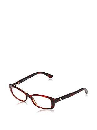 Hogan Montura HO5037 (54 mm) Rojo