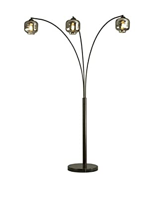 Nova Thomas 3-Light Arc Lamp, Oil Rubbed Bronze