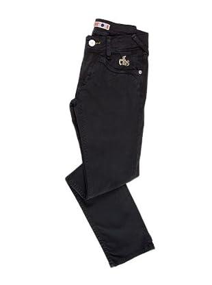 Naf Naf Chevignon Pantalón chino (azul oscuro)