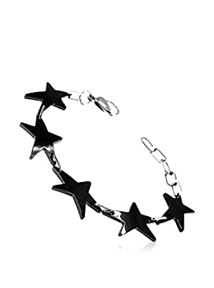 So Charm with Crystals from Swarovski Pulsera  Negro