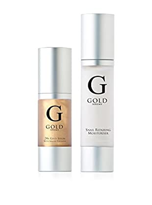 Gold Serums Gesichtspflege Kit 2 tlg. Set