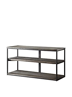 Luxury Home Cirque Media Console Table, Grey