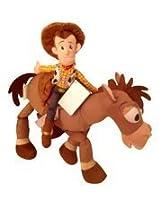 Disney Bullseye (17 In) And Woody(12 In) Plush