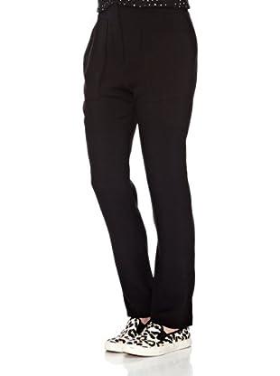 Mango Pantalón Ideal (Negro)