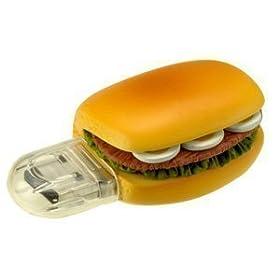 グリーンハウス サンドイッチ型 USBフラッシュメモリ ファーストフードシリーズ1GBセキュリティー機能 GH-UFD1GF-SW