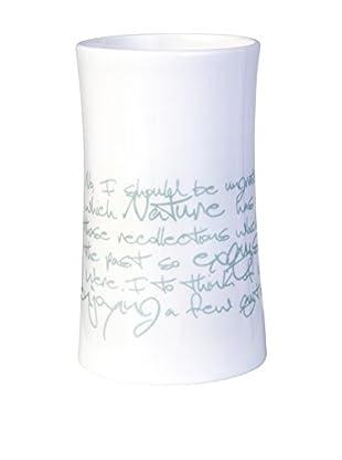Lene Bjerre Francesca Small Tealight/Vase, White/Mint