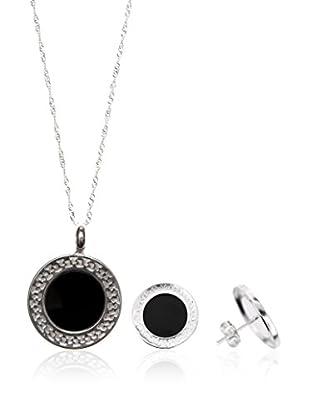 Cordoba Set Kette, Anhänger und Ohrringe Sterling-Silber 925