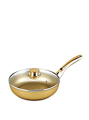 Stonegold Pfanne mit Deckel gold
