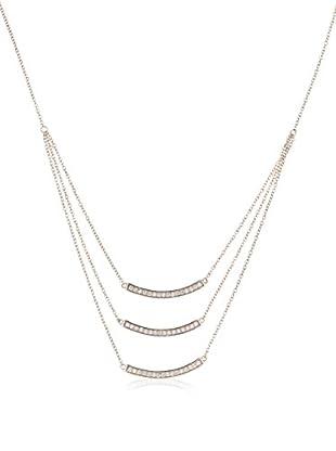 ANDREA BELLINI Halskette Mes 3 Barettes Sterling-Silber 925
