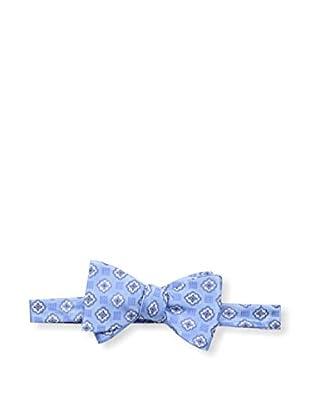 Bruno Piattelli Men's Medallion Bow Tie, Blue