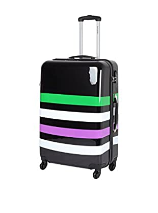 TRAVEL WORLD Hartschalen Trolley   59 cm