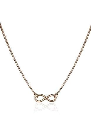 Annie Ram Halskette Infinity rosévergoldet